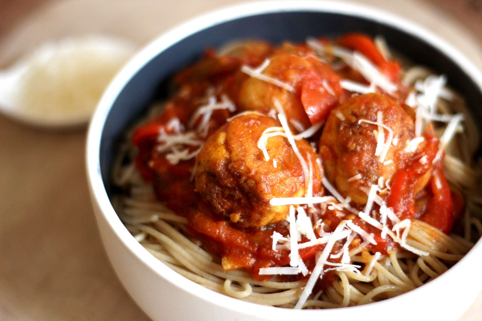 spaghettis-chicken-meatballs